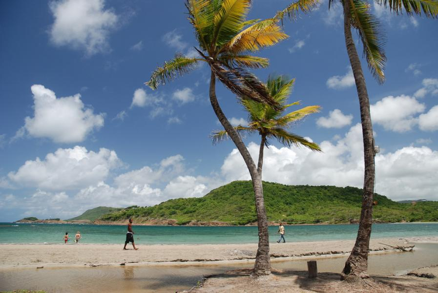 Saint Lucia Island J6 Buddipole DX Pedition DX News Beach