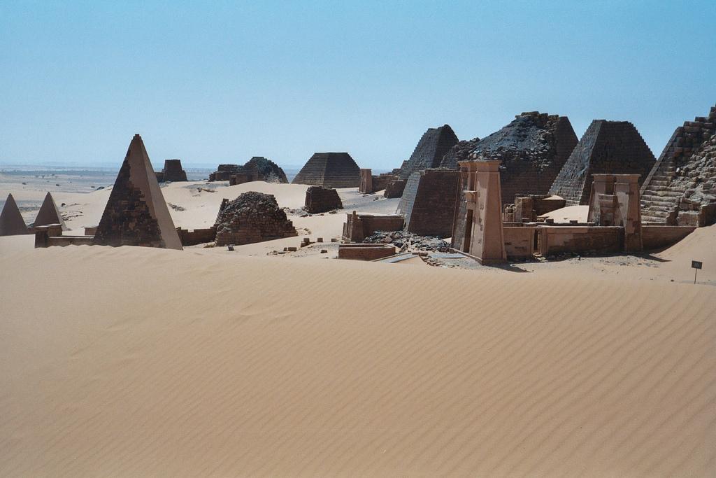 ST/R4PBW Пирамиды, Судан. Туристические достопримечательности.