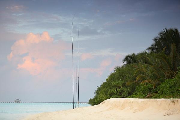 Sun Island 8Q7DV Maldives CQ WW DX CW Contest 2016 Antennas