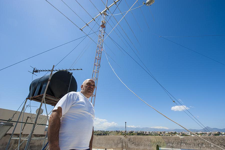 Multi Element Yagi Antenna SV9ANK Crete Island