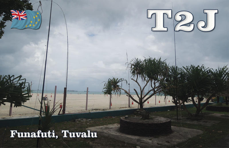 Tuvalu T2J QSL