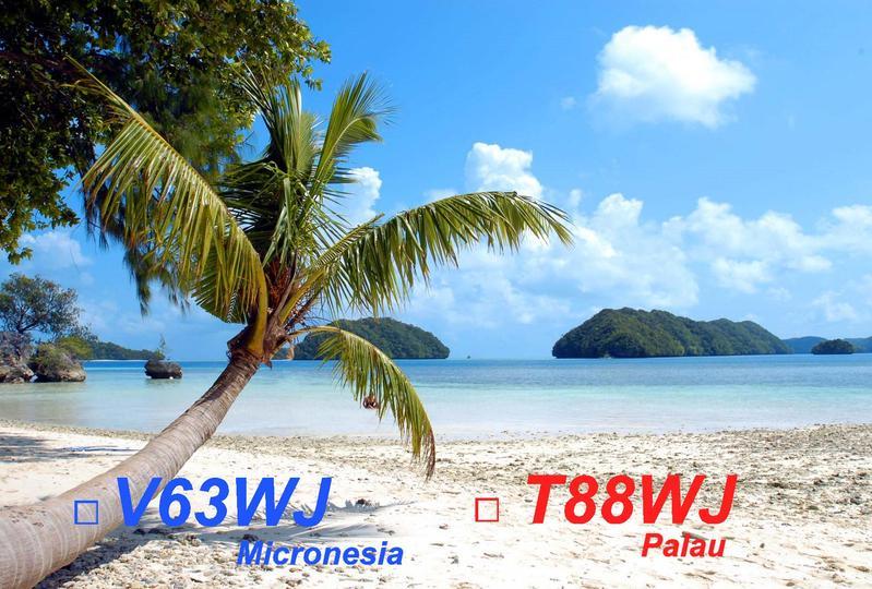 T88WJ Palau QSL