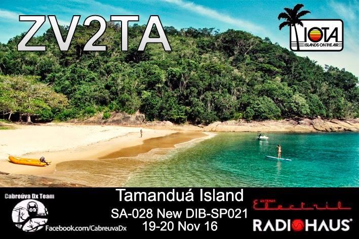 Остров Тамандуа ZV2TA