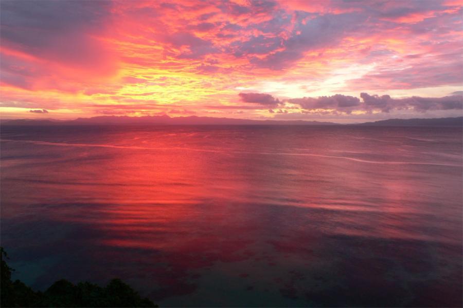 Остров Тавеуни Фиджи 3D2JS DX Новости Закат.