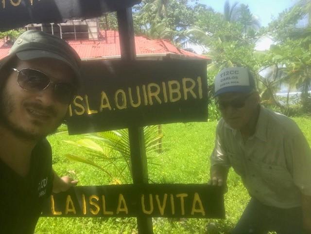 TE6DX Остров Увита Коста Рика TI2CDA TI2CC