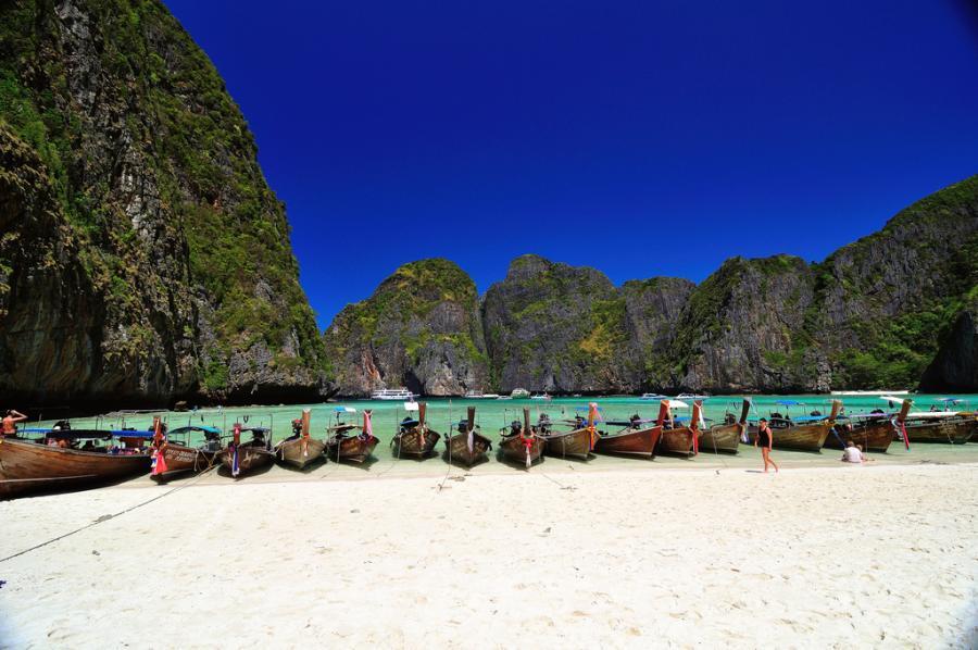Thailand HS0ZME Tourist attractions spot Koh Phi Phi