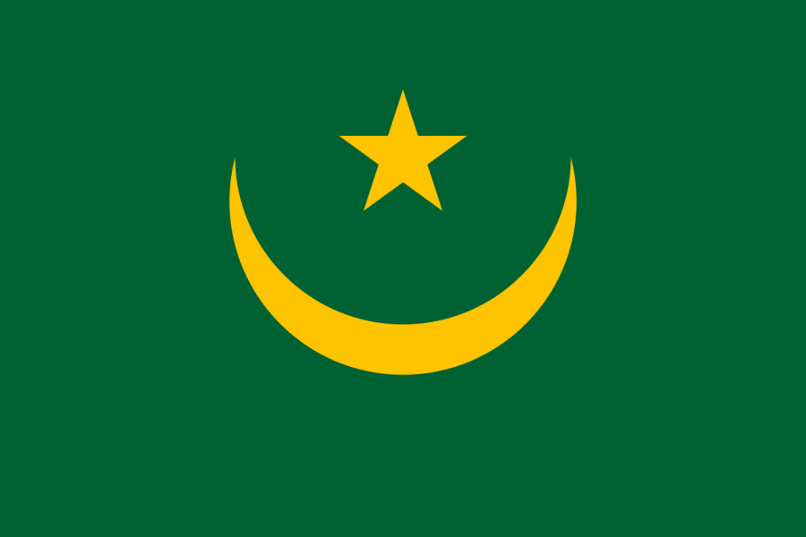 Остров Тидра Мавритания 5T5TI Государственный флаг