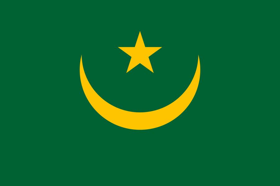 Tidra Island Mauritania 5T5TI National Flag