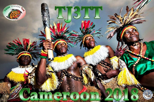 TJ2TT Cameroon DX Pedition QSL