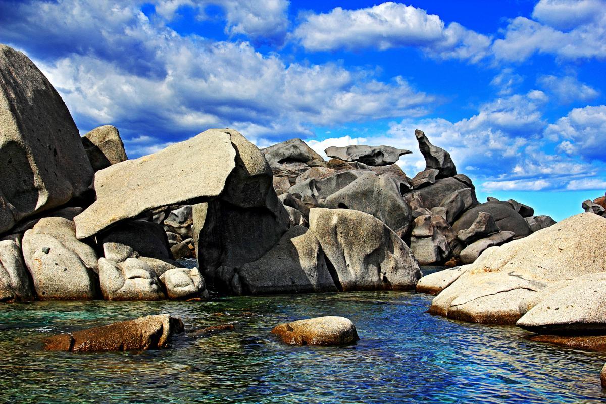 TK9R Corsica Island Tourist attractions spot