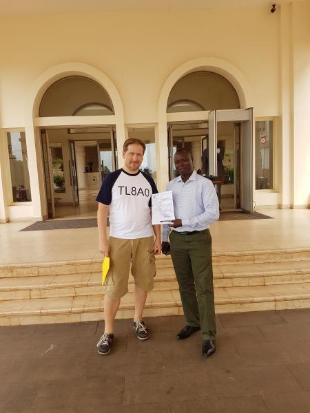 Central African Republic DX Pedition TL8AO License