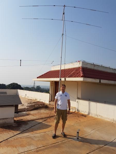 Central African Republic DX Pedition TL8AO LA7GIA Antennas