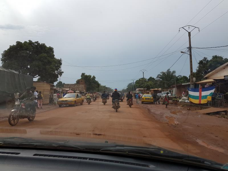 Central African Republic TL8AO View