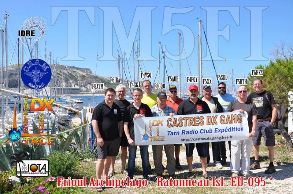 TM5FI Остров Ратоно Фриульские острова 2019