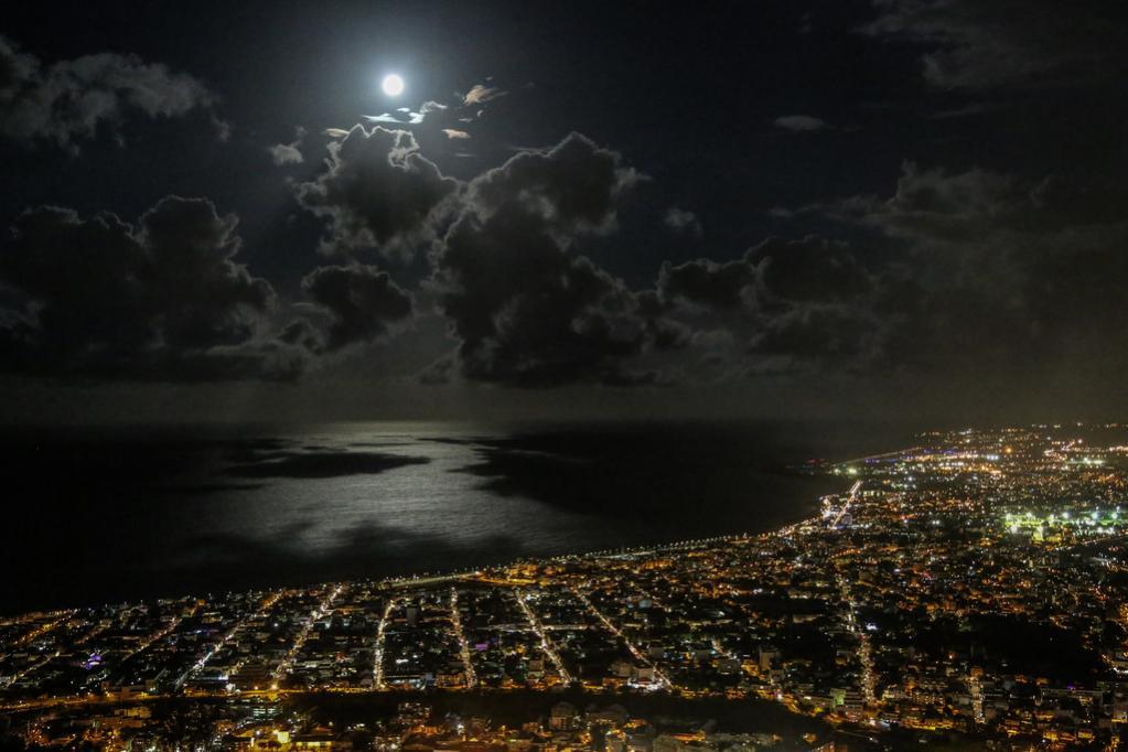 TO19A Saint Denis, Reunion Island. Tourist attractions spot