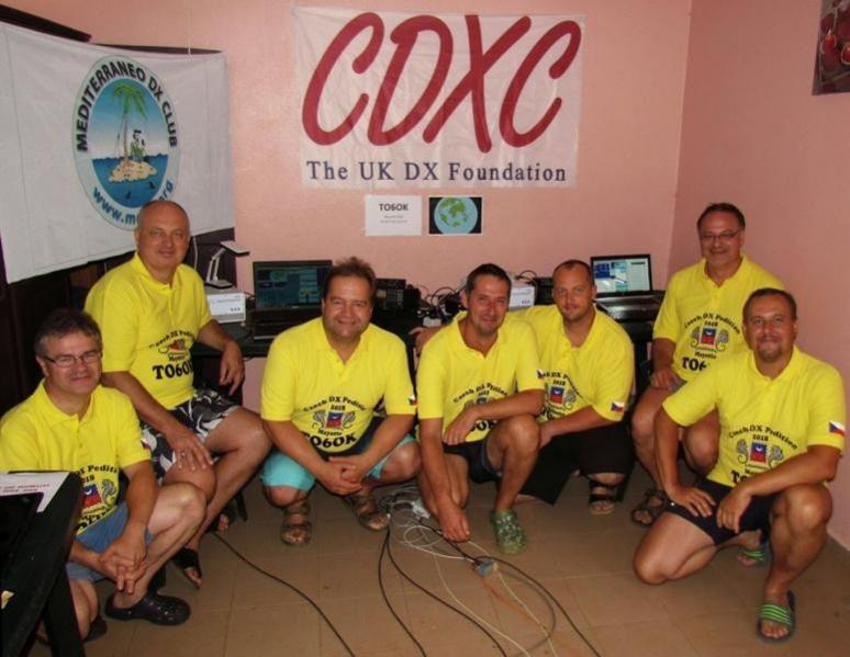 TO6OK Mayotte DX Pedition Team Article