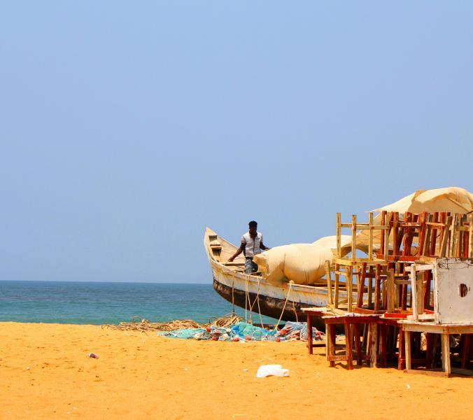 Togo 5V7P Tourist attractions spot Lome