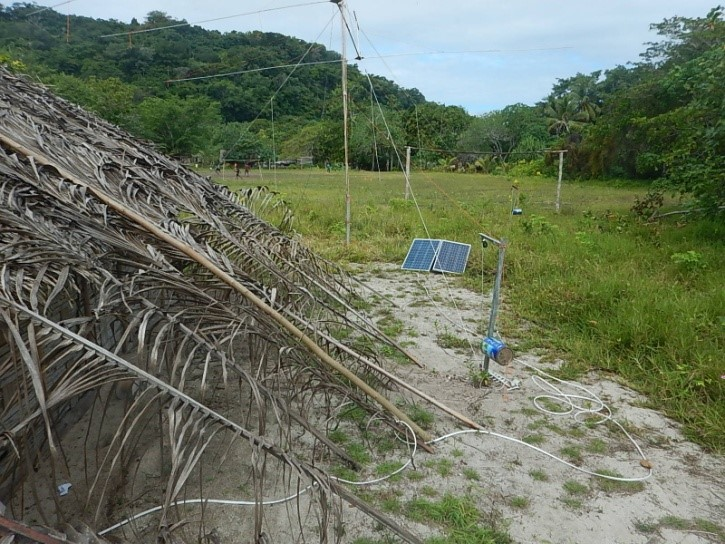 Torres Islands YJ8RN/P Antenna