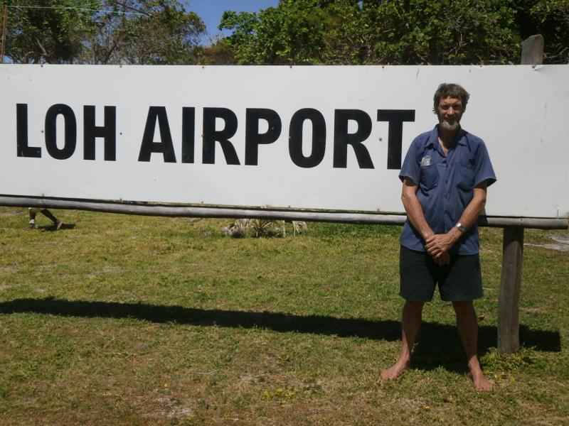 Torres Islands YJ8RN/P Loh Airport Rod YJ8RN