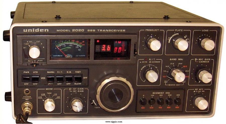 Uniden Amateur Radio Contest transceiver 2020