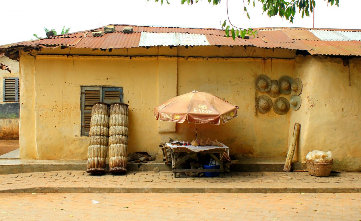 TY7C Ouidah, Benin. Tourist attractions spot