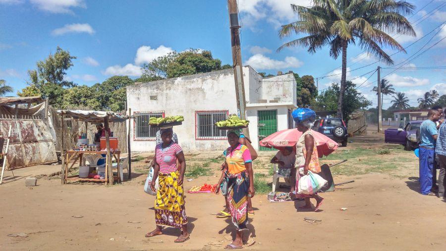 Мозамбик Хаи Хаи. Обычная Африка.