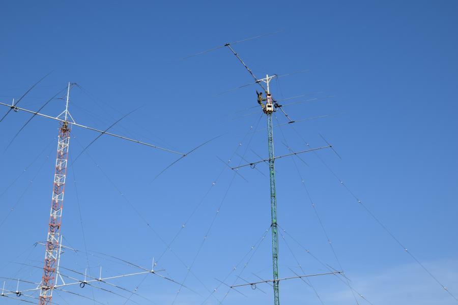 Казахстан UP2L Антенны на 14 мГц