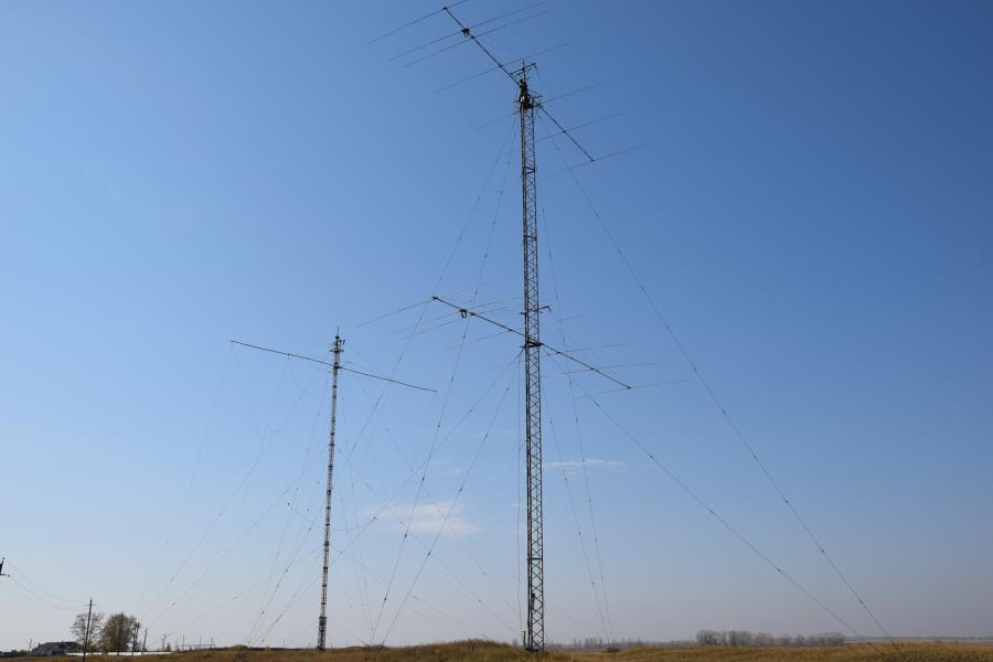 Казахстан UP2L Антенны на диапазон 20м