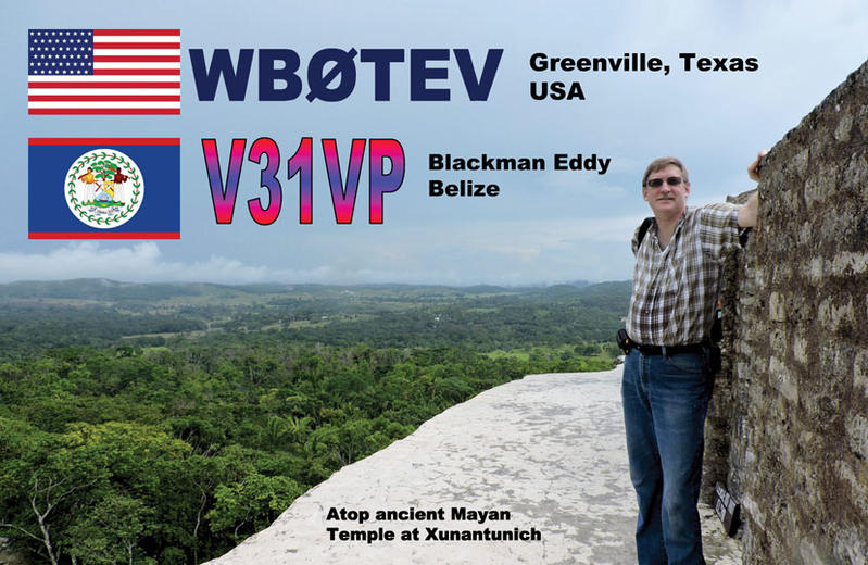 Belize V31VP QSL