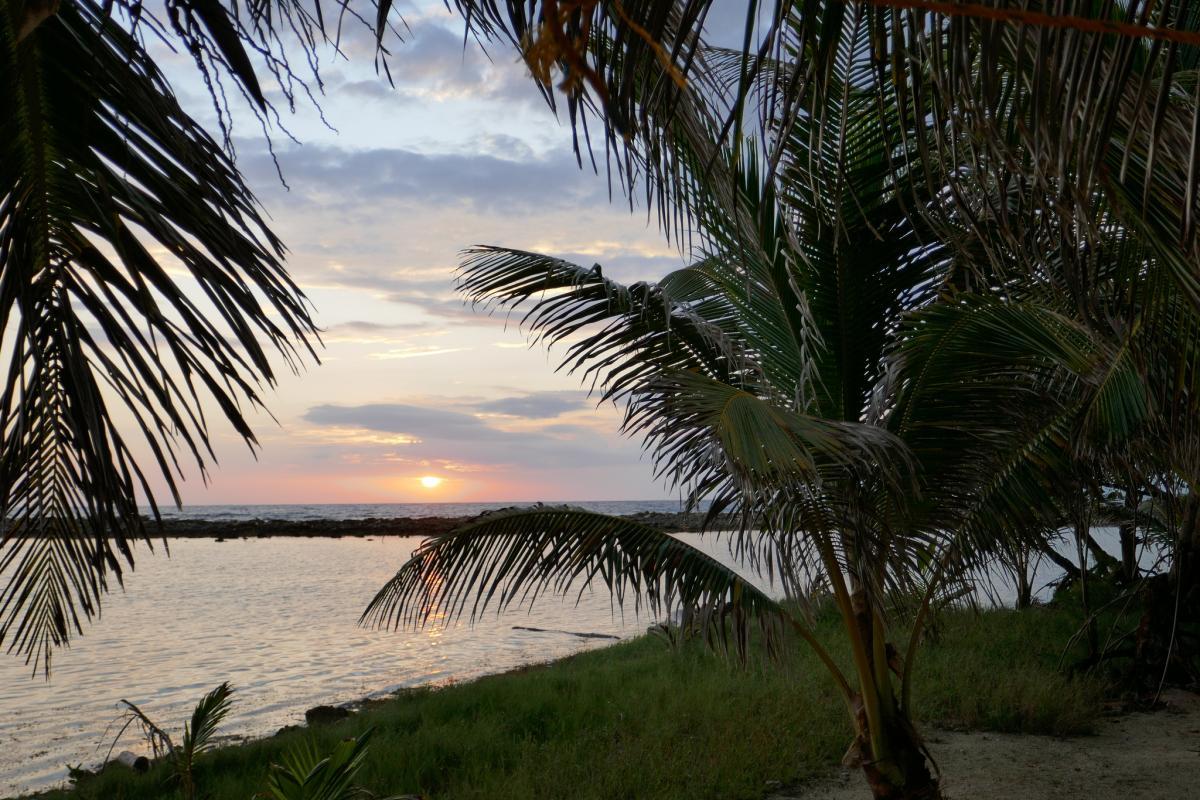 V31UX Sunrise, Belize