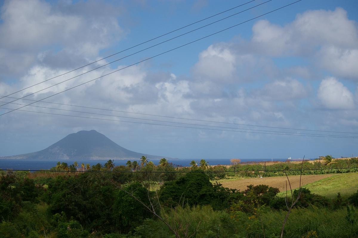 V47UR Остров Сент Китс Туристические достопримечательности