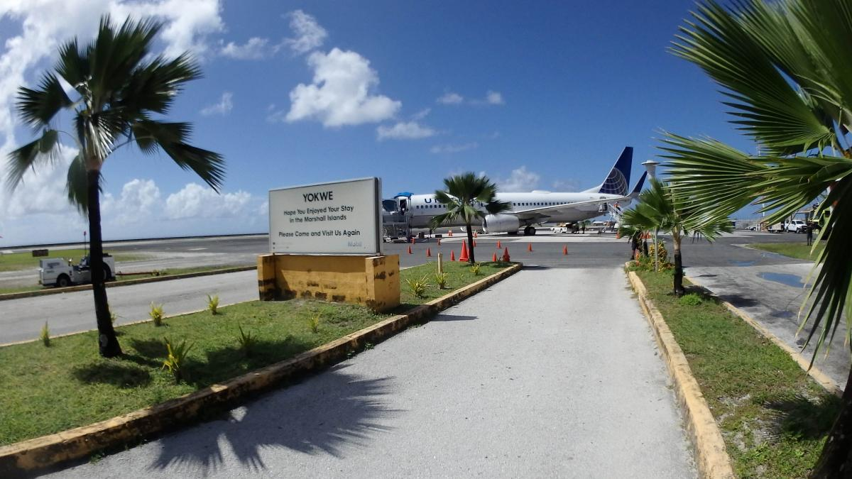 V73NC Международный аэропорт, атолл Маджуро, Маршалловы острова. DX Новости.