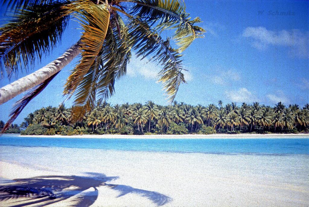 V73MT Majuro Atoll, Marshall Islands. Tourist attractions spot