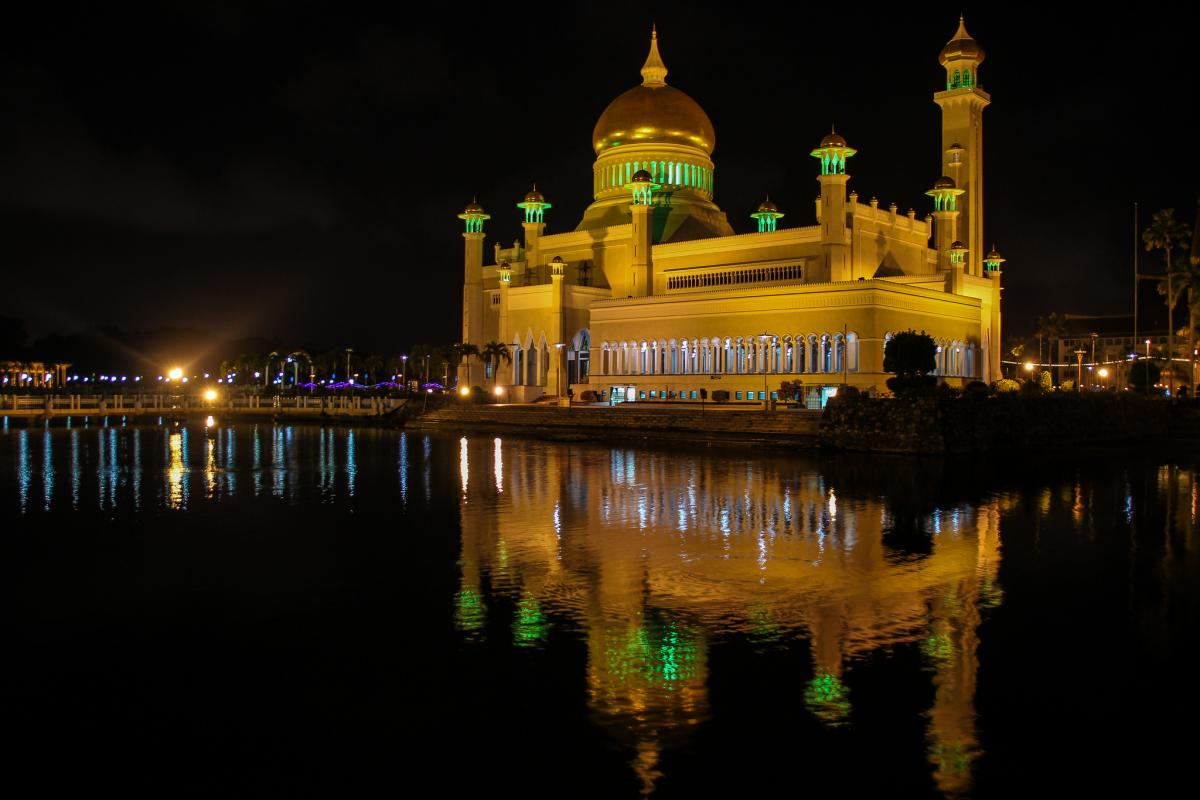 V85/KC0W Mosque, Brunei