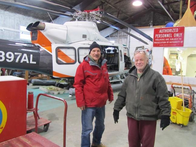 VE3LYC/KL7 Little Diomede Island, Alaska Helicopter DX News Image 2