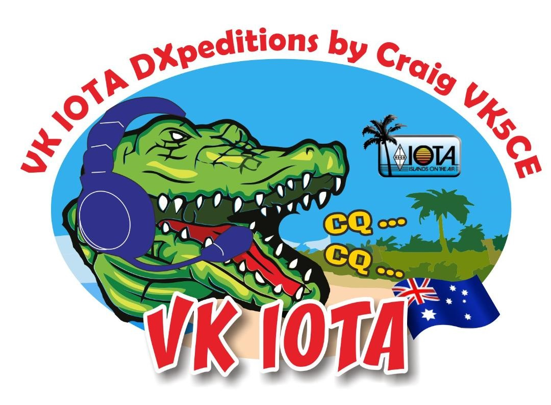 VK5CE/6 IOTA Expedition Woody Island, East Lewis Island, Direction Island, St Peter Island