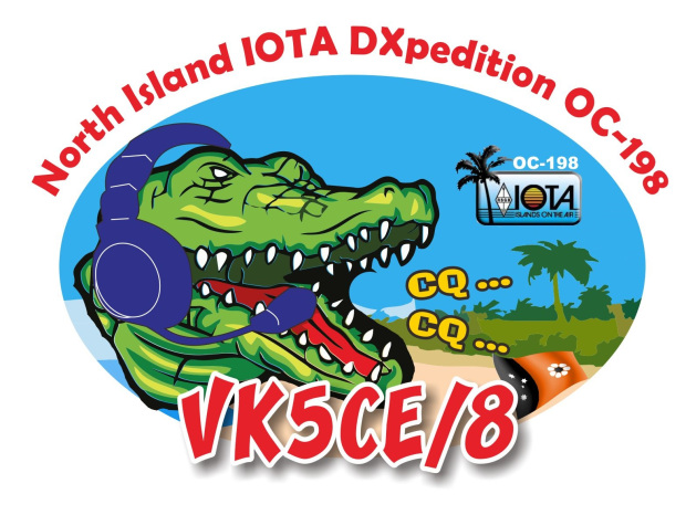 VK5CE/8 North Island Logo