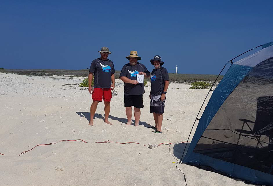VK9AR/6 Mike AB5EB, Craig VK5CE and Mike AD5A on Browse Island OC-234