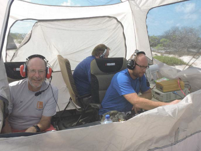 VK9AR Ashmore Reef Mike AD5A, Craig VK5CE, Mike AB5EB