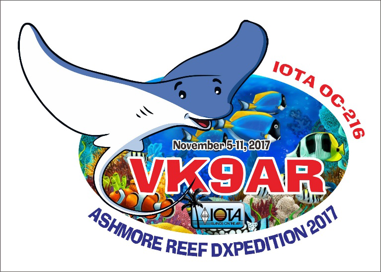 VK9AR Ashmore Reef Story Logo
