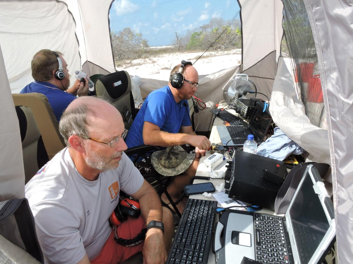 VK9AR Ashmore Reef IOTA DX Pedition QRV