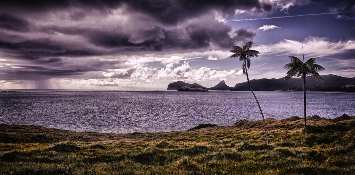 VK9LI Sunset, Lovers Bay, Lord Howe Island.