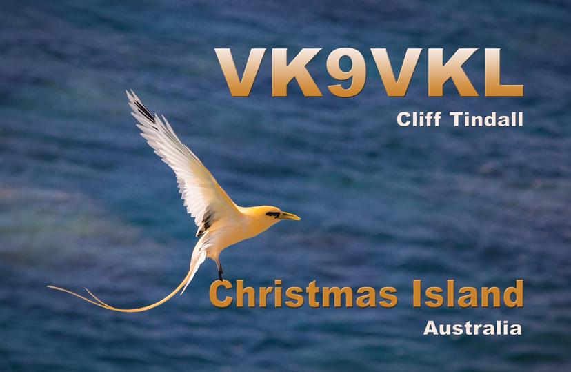 VK9VKL Christmas Island QSL