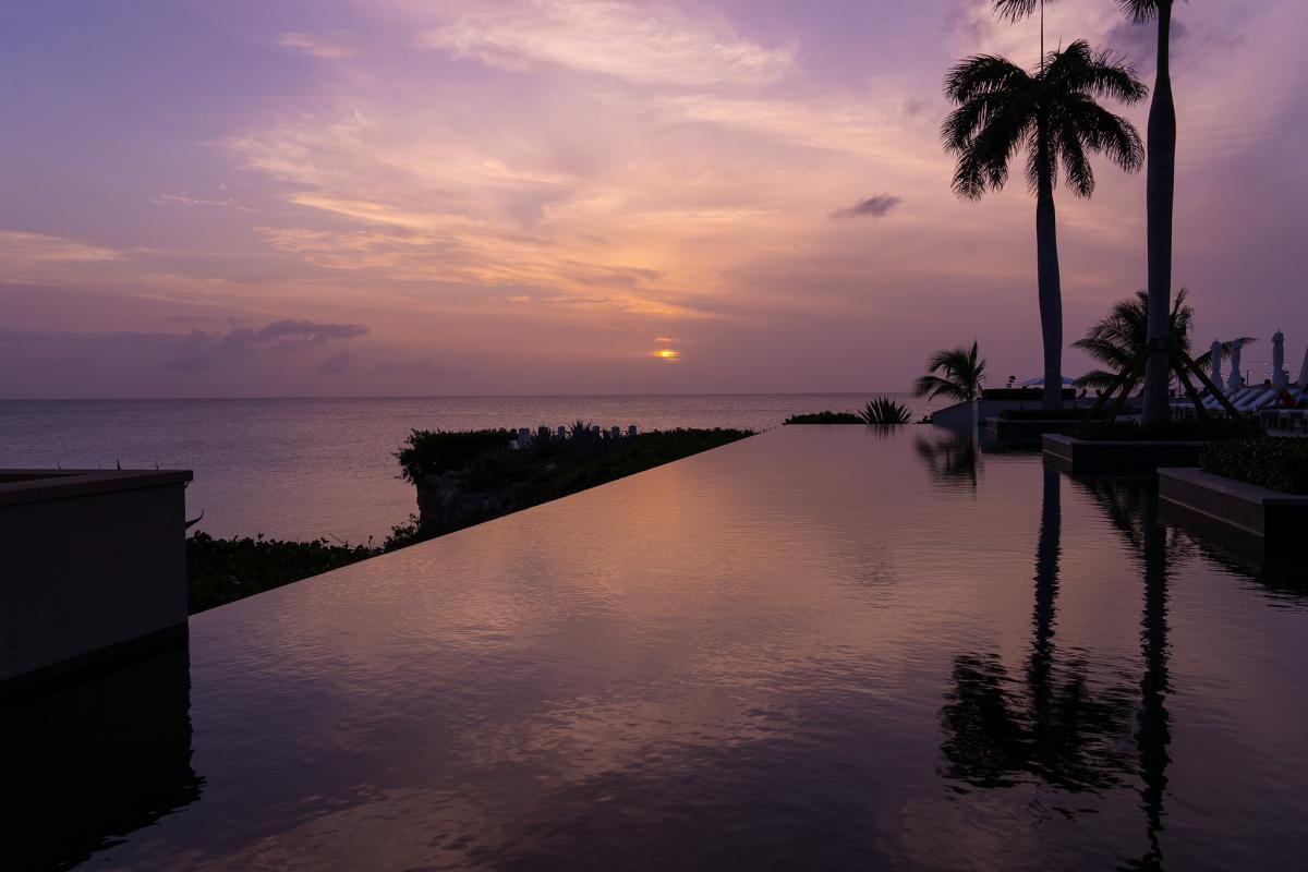 VP2ESJ Закат, остров Ангилья. Туристические достопримечательности.