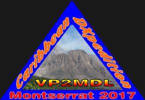 VP2MDL Montserrat Island Logo
