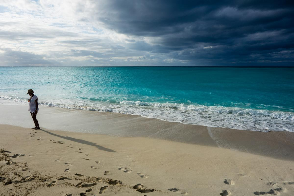 VP5/N2WKS Grace Bay Beach, Providenciales Island, Turks and Caicos Islands Tourist attractions spot