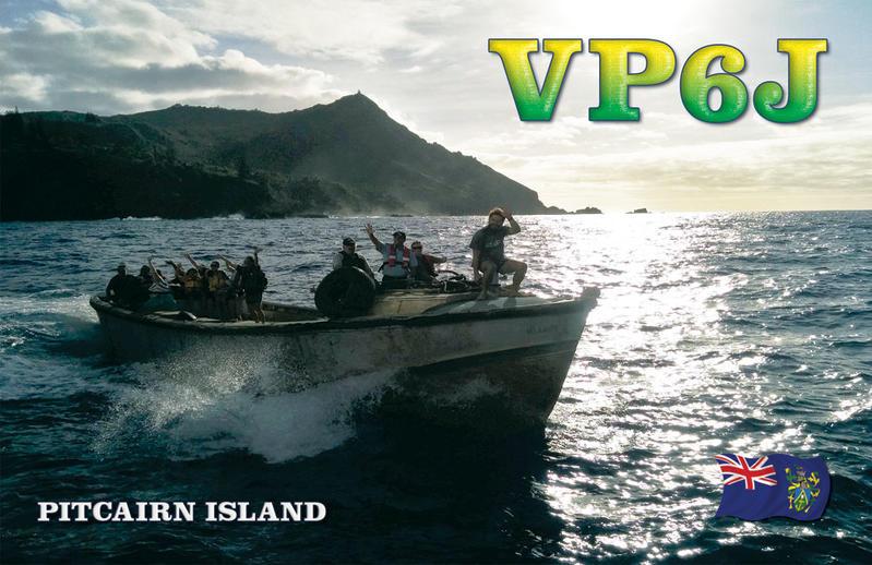 Pitcairn Island VP6J QSL