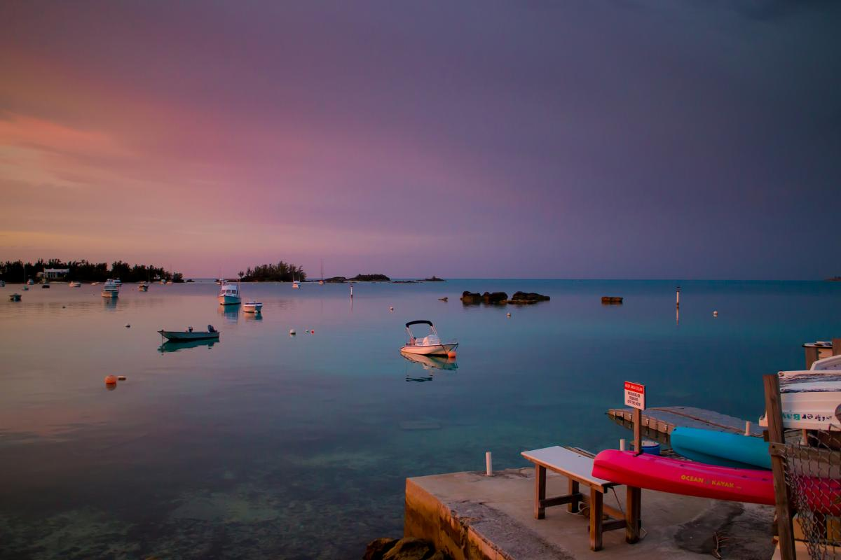 VP9/W1ZZ Bermuda Islands Tourist attractions spot