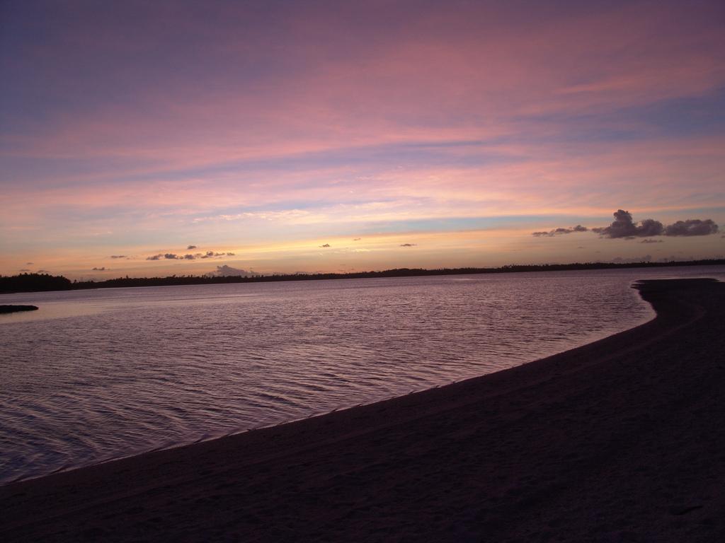 VQ920JC Закат, остров Диего Гарсия, архипелаг Чагос.