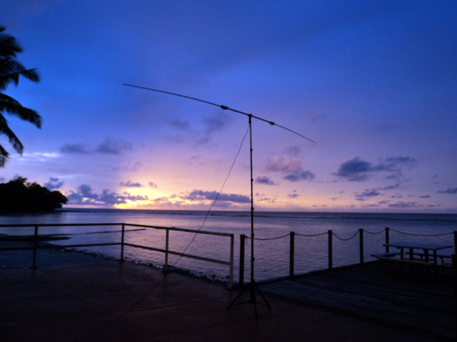 VQ9KA Chagos Archipelago Antenna